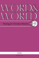 Word & World - Winter 2013